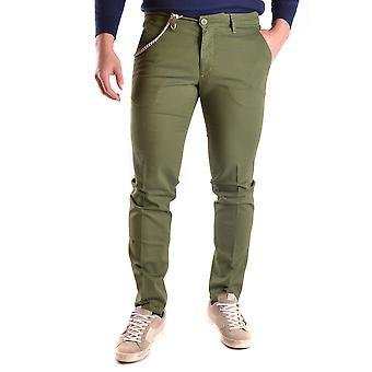 Manuel Ritz Ezbc128007 Men's Green Cotton Pants