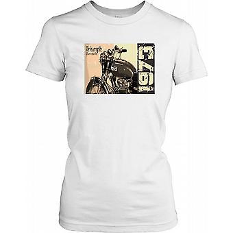 Triumph Bonneville 1973 - bicicleta clásica las señoras T Shirt