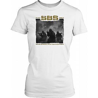 SBS - Special Boat Service bereitgestellt Damen T Shirt