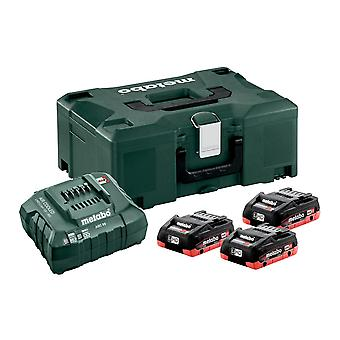 Metabo Basic-Set 3 x LiHD 4.0Ah batterij Kit
