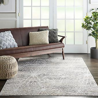 Silky Textures SLY07 Ivory Beige  Rectangle Rugs Modern Rugs