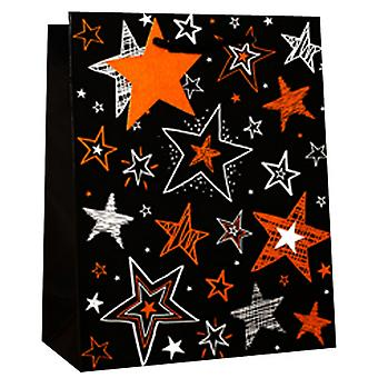 Simon Elvin Foil Contemporary Gift Bags (Pack Of 6)