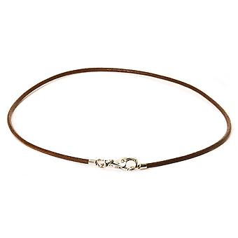 Trollbead Brown Leather Necklace TLENE-00005