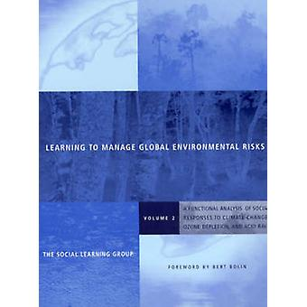Learning to Manage Global Environmental Risks - A Functional Analysis