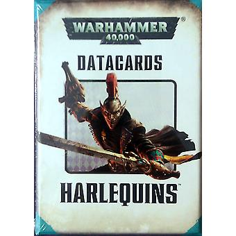 Games Workshop-Warhammer 40.000-datacards: Harlequins