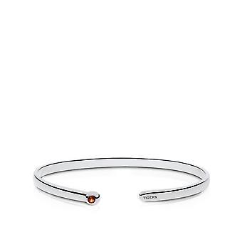 Auburn University Dark Citrine Cuff Bracelet In Sterling Silver Design by BIXLER