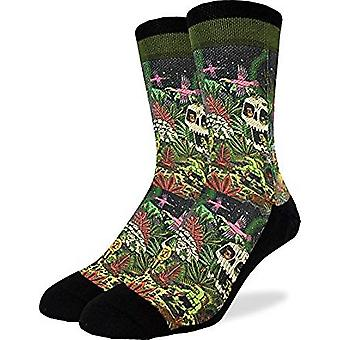 Socks - Good Luck Sock - Men's Active Fit - Trippy Jungle (8-13) 4114