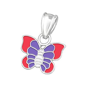 Butterfly - 925 Sterling Silver Pendants - W11768x