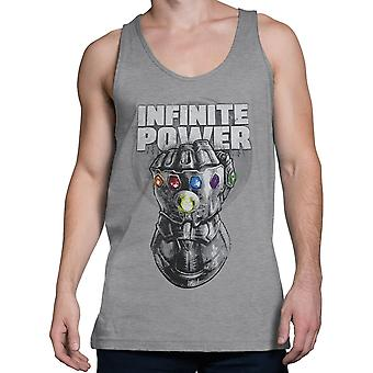 Infinity War Thanos Infinite Power mænd ' s tank top