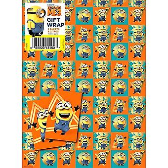 Despicable Me 3 Gift Wrap