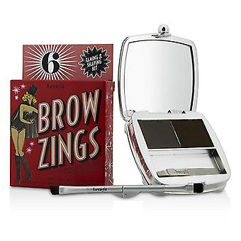 Benefit Brow Zings (total Taming & Shaping Kit For Brows) - #6 (deep) - 4.35g/0.15oz