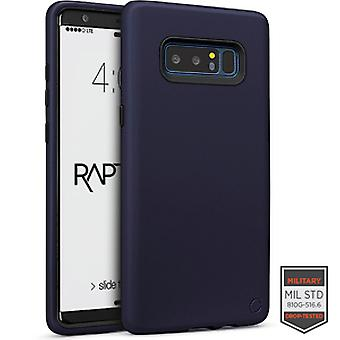 SS Note 8 - Rapture Navy Blue/Black Matte Finish