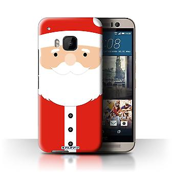 STUFF4 Case/Cover for HTC One/1 M9/Santa Claus/Christmas Character