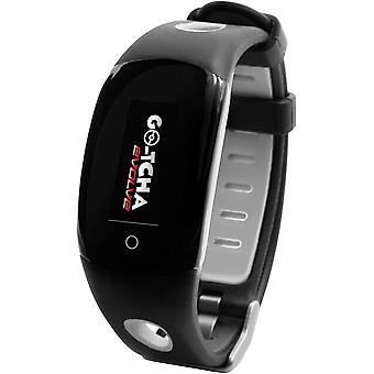 Datel Go-tcha Evolve LED Touch Wristband Smartwatch For Pokemon Go - Black/Grey