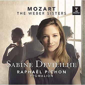 Mozart / Devieilhe, Sabine - Weber Sisters [CD] USA import