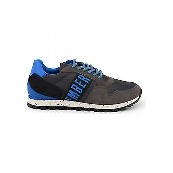 Bikkembergs - Shoes - Sneakers - FEND-ER_2356_BLUE-DKGRAY - Men - dimgray,dodgerblue - EU 44