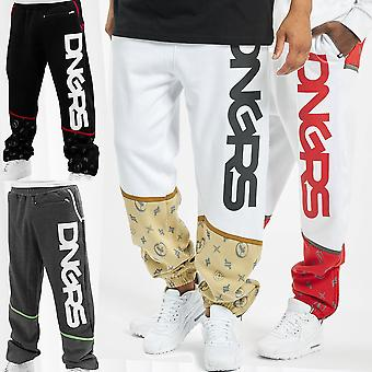 Men's Sweat Pants DNGRS Sport Fitness Trousers Urban Dangerous Crosshair Bear
