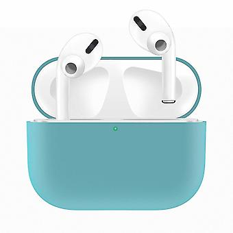 Silikon-Hülle Fall für Apple Airpods PRO Blue
