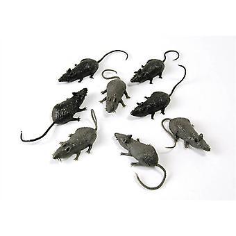 Bnov Scary Stuff Mice (8/Pkt)