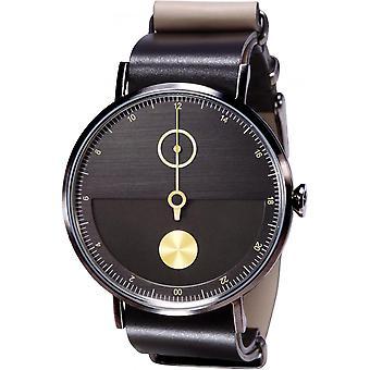 Watch TACS timepiece TS1602D - watch Day & Night black - gold man / woman