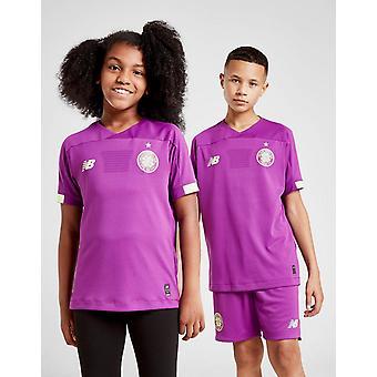 New New Balance Celtic FC 2019/20 Goalkeeper Away Shirt Junior Purple