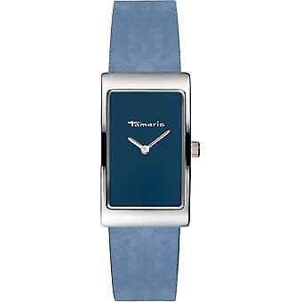 Tamaris - Wristwatch - Aila - DAU 22 - 5 x 38 - 5mm - Silver - Women - TW021 - light blue silver
