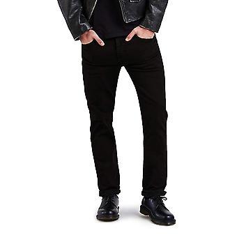 Levi-apos;s Men-apos;s 511 Slim Fit Jean, Black - Stretch, 33W x, Black, Taille 33W x 32L