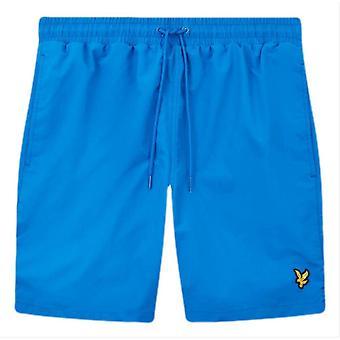 Lyle en Scott Plain Swim Shorts - Bright Cobalt Blue