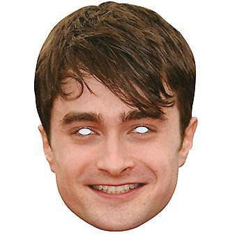 Daniel Radcliffe Celebrity 2D Single Card Party Face Mask