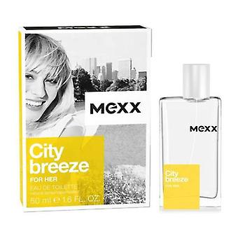 Mexx City Breeze Para Su Eau de toilette spray 50 ml