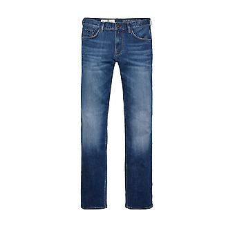 Tommy Hilfigercore Denton Straight Leg Jeans New Mid Stone
