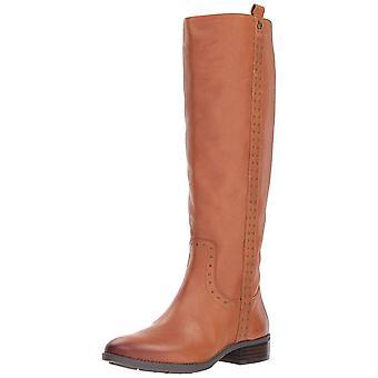 Sam Edelman Womens Prina Leather Almond Toe Knee High Cowboy Boots