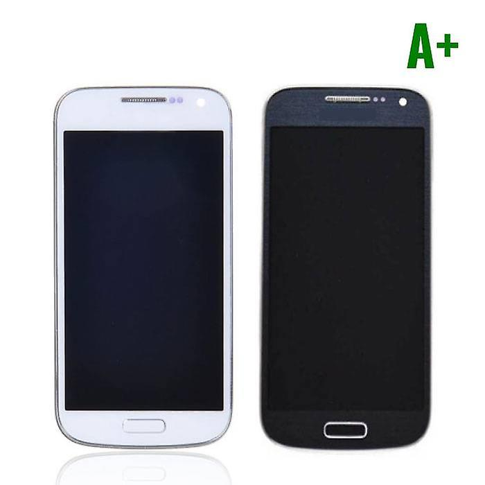 Stuff Certified® Samsung Galaxy S4 Mini Screen (AMOLED + Touch Screen + Parts) A + Quality - Blue / White