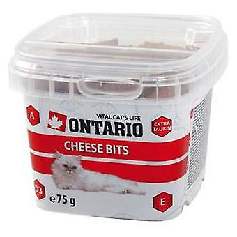 Ontario Cat Snack Cheese Bits 75g (Cats , Treats , Biscuits)