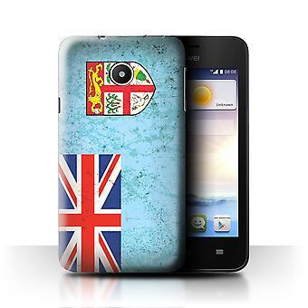 STUFF4 Case/Cover for Huawei Ascend Y330/Fiji/Fijian/Oceania Flag