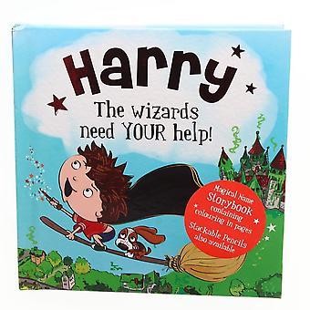 Historie og Heraldry Magiske Navn Storybook - Harry