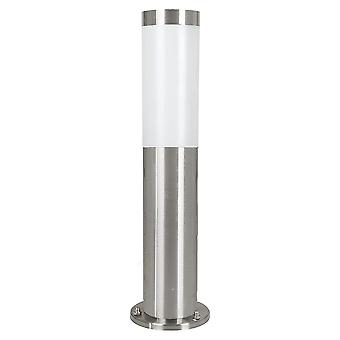 Eglo Helsinki - 1 Light Outdoor Bollard Light Stainless Steel IP44 - EG81751