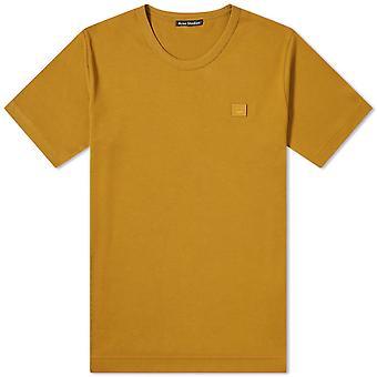 Acne Studios 25e17359c Women's Brown Cotton T-shirt