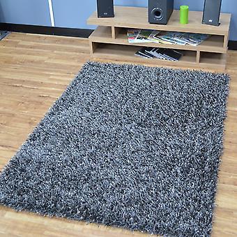 Turino ruggade mattor i grå Funk