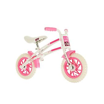 Townsend Duo Girls 10 Inch Balance Bike White/Pink- MV Sports