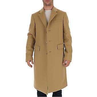 Burberry 8009259a1420 Men's Bege Wool Coat