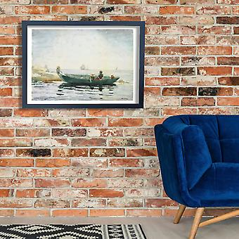 Winslow Homer - The Green Dory Poster Print Giclee