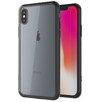 Shockproof clear slim bumper iphone 8 plus case