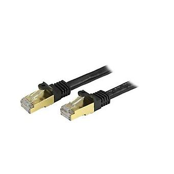 Startech 3Ft Shielded Cat6A Patch Cable Black