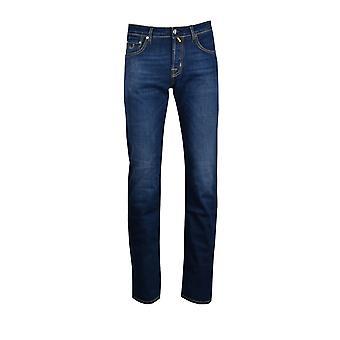 Jacob Cohen J620 maßgeschneiderte Fit Jeans Denim waschen