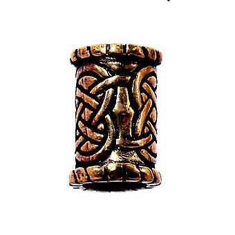 Barbă celkeltenk din mărgele 6 mm-bronz