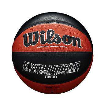 Wilson Evolution Advanced Microfibre Composite Basketball Ball Tan/Black