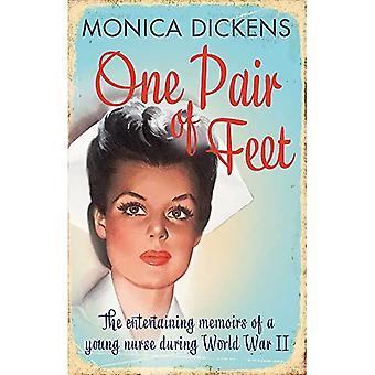 Une paire de pieds: les divertissantes mémoires d'une jeune infirmière pendant la seconde guerre mondiale: un classique moderne Virago (VMC)