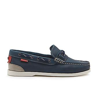 Chatham Men's Clipper Slip-On Boat Shoes