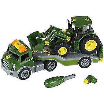 Theo Klein John Deere Transporter and Tractor Set For Ages 3+ and Above